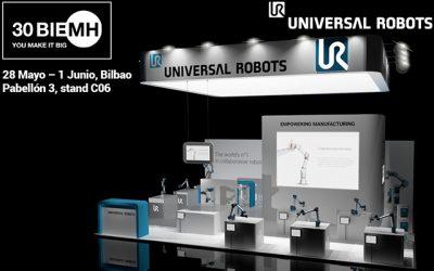 Universal Robots en acción en BIEMH 2018 como pionero…